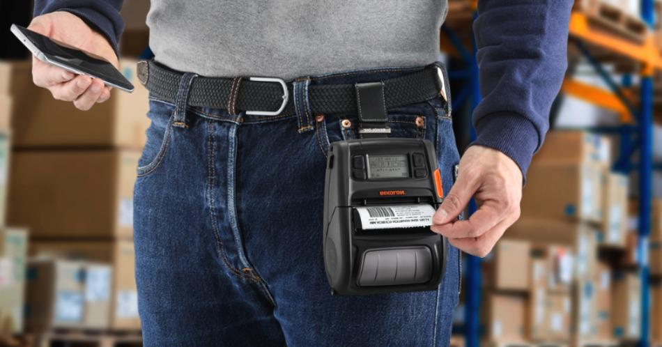 Мобильный или компактный термопринтер